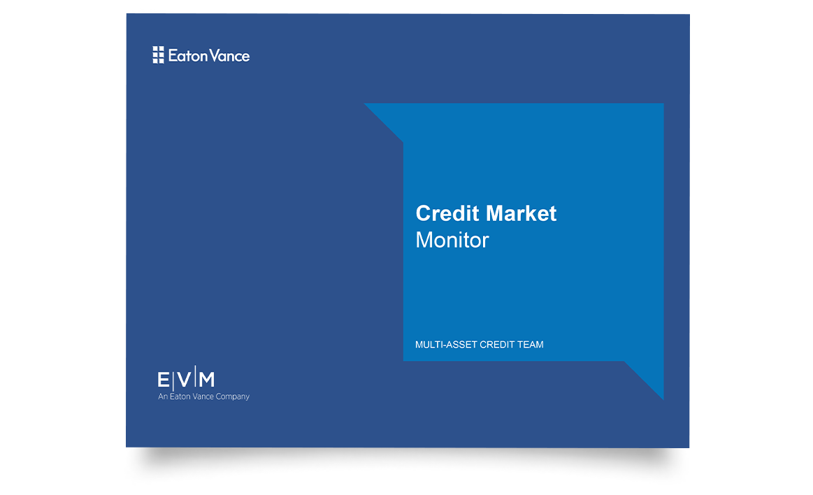 Credit Market Monitor